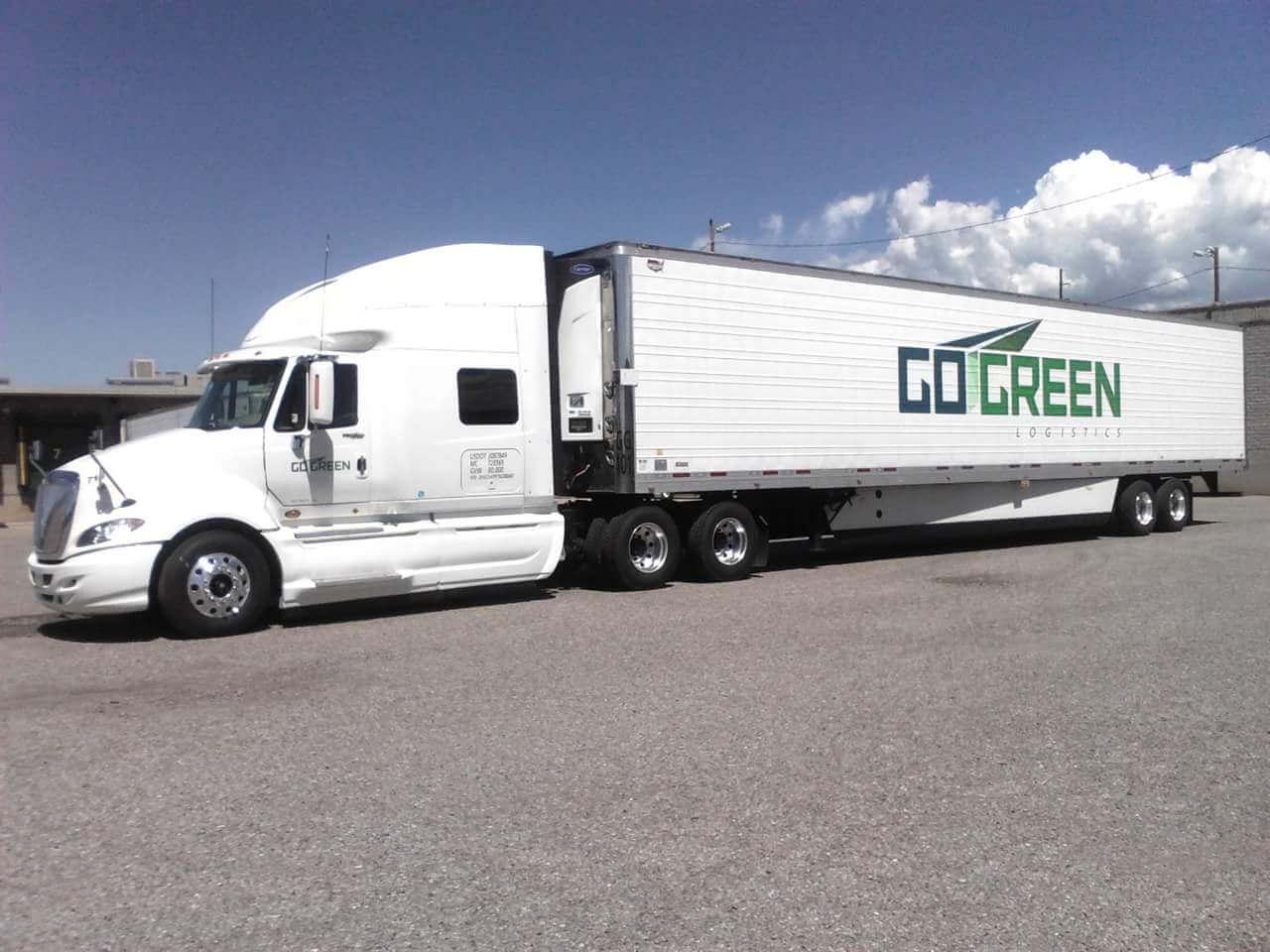 It's Your Destination. <br>We Deliver Service.  truck 1